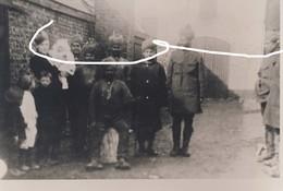 11. Charleroi Soldats Indiens De L'armée Britannique En Garnison En 1918. Repro - 1914-18