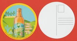 Sous-bock / Carte Postale Plastifié Brasseries BOURBON La Réunion ** Neuf ** Biere Birra Cerveza Piwo Pilsen - Sous-bocks