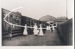 11. 1916 Train Allemand En Gare De Charleroi. 1e Guerre. Repro - 1914-18