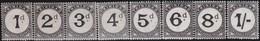 Trinidad     .     SG   .   D 19 / D 25  ( D21: * )      .   **    .     Postfris    .   /   .   MNH - Trinité & Tobago (...-1961)