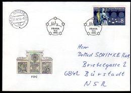 CZECH REPUBLIC 1993 Nepomuk 600th Anniversary FDC.  Michel 4 - FDC