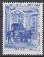 Österreich 1974 Nr.1471 ** Postfr. Tag Der Briefmarke ( 9195) Günstige Versandkosten - 1945-.... 2. Republik