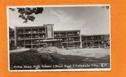 PHILIPPINES - COTABATO CITY - NOTRE DAME HIGH SCHOOL (BOYS DEPT) - CARTE ANIMEE - Filippine
