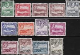 Antigua       .     SG   .       98/109       .  *      .  Ongebruikt      .   /   .   Mint-hinged - Antigua & Barbuda (...-1981)