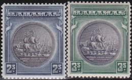 Bahamas    .     SG   .    131/132        .  *      .  Ongebruikt      .   /   .   Mint-hinged - Bahamas (...-1973)