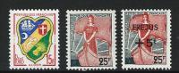 """FR YT 1195 1216 1229 """" Petits Timbres De L'année """" 1959 Neuf** - Neufs"""
