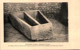 86 - POITIERS - Baptistère St-Jean - Poitiers