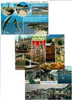 44 / LOIRE ATLANTIQUE / Lot 800 C.P.M. écrites - Cartes Postales