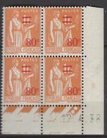 CD 359 TYPE II FRANCE 1938 COIN DATE 359 TYPE II : 12 / 4 / 38 PAIX - Dated Corners
