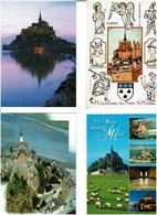50 / MONT SAINT MICHEL / Lot 750 C.P.M. écrites - Cartes Postales