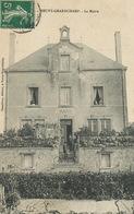 Neuvy Grandchamp La Mairie Edit Chandioux  Envoi à Lagoutte Blanzy Les Mines - France