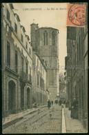 Carcassonne Animee Rue Du Marche Eglise 11 Aude France - Carcassonne