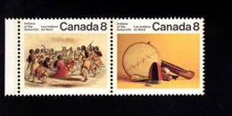 753913442  1975  SCOTT 575A POSTFRIS MINT NEVER HINGED EINWANDFREI (XX)  ARTIFACTS AND DANCE OF THE INDIANS 575 FIRST - 1952-.... Règne D'Elizabeth II