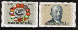 HUNGARY  Scott # 1174-5** VF MINT NH (Stamp Scan # 490) - Hungary