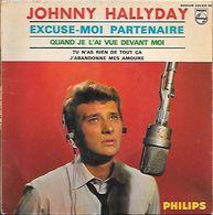 JOHNNY HALLYDAY  ** EXCUSEZ MOI PARTENAIRE - Vinyles