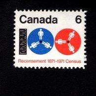 753914411  1971  SCOTT 542 POSTFRIS MINT NEVER HINGED EINWANDFREI (XX)  COMPUTER TAPE AND REELS - 1952-.... Règne D'Elizabeth II