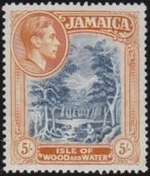 Jamaica       .     SG   .     132    .   14          .   *      .   Ongebruikt     .   /   .   Mint-hinged - Jamaïque (...-1961)
