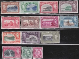 Trinidad&Tobago      .     SG   .     246/256       .       *      .   Ongebruikt     .   /   .   Mint-hinged - Trinité & Tobago (...-1961)