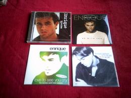 ENRIQUE  IGLESIAS  °  COLLECTION DE 4 CD - Musique & Instruments