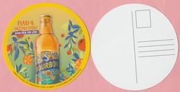 Sous-bock / Carte Postale Plastifié Brasseries BOURBON La Réunion ** Neuf ** Biere Birra Cerveza Piwo Pilsen - Bierdeckel