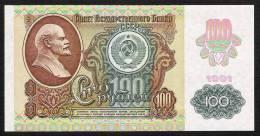 RUSSIE P243  100  RUBLE   1991  UNC. - Russie