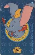 TARJETA TELEFONICA DE ISRAEL (DISNEY). Dumbo. BZ-246. (778) - Disney
