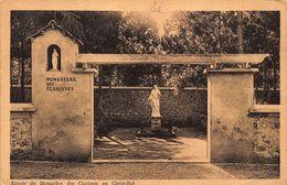 Morocco Souissi Rabat Maroc Monastere Des Clarisses Statue Monastery Postcard - Rabat