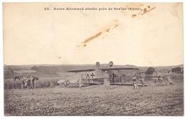 Aisne Braine Avion Allemand Abattu Pres De Braine - Altri Comuni