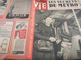 VIE/DERNIER METRO /CHASSEURS TANKS /MERMOZ /MARIA CASARES  /LOTEIE PEYNET - Libros, Revistas, Cómics