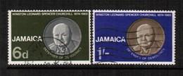 JAMAICA  Scott # 252-3 VF USED (Stamp Scan # 490) - Jamaica (1962-...)
