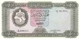 LIBYA 5 DINAR 1972 P-36b SIG/SHERLALA UNC */* - Libië