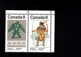 753922493 1975  SCOTT 577A POSTFRIS  MINT NEVER HINGED EINWANDFREI  (XX) SUBARCTIC INDIANS 576 FIRST STAMP - 1952-.... Règne D'Elizabeth II