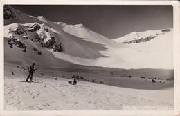 AK Kalbenjoch - Stubaier Alpen - Skifahrer - Werbestempel Rundfunk - 1943 (40558) - Österreich