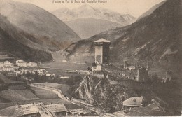FUCINE E VAL DI PEIO DAL CASTELLO OSSANA VEDUTA PANORAMICA D'EPOCA ANNO 1919 - Trento