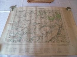 Lot  De 3 Cartes Topographiques Guise , Bohain , Trélon - Cartes Topographiques