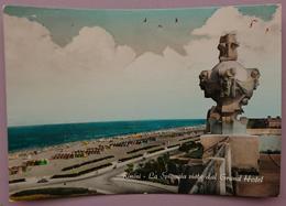 RIMINI - LA SPIAGGIA VISTA DAL GRAND HOTEL   Nv - Rimini