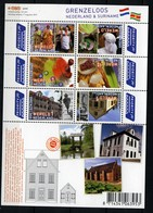Nederland Pay Bas Olanda Netherlands 2010, Suriname Architecture **, MNH, S/S - Periode 1980-... (Beatrix)