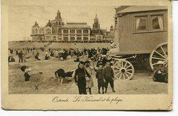 CPA - Carte Postale - Belgique - Ostende - Le Kursaal Et La Plage - 1921 (M8173) - Oostende