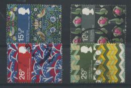 STAMPS - GREAT BRITAIN - 1982 TEXTILES SET - USED - 1952-.... (Elizabeth II)