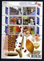 Nederland Pay Bas Olanda Netherlands 2010, Suriname Fruit **, MNH, S/S - Period 1980-... (Beatrix)