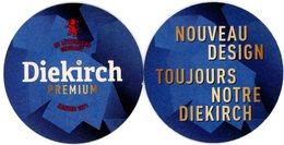 Luxembourg. Letzeburg. Diekirch Premium. Zu Lëtzebuerg Gebraut. Zanter 1871. Nouveau Design. Toujours Notre Diekirch. - Portavasos
