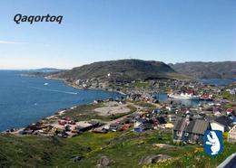Greenland Qaqortoq Aerial View New Postcard Grönland AK - Greenland