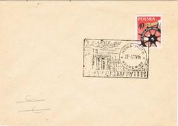 32381. Carta NOWA HUTA (Krakow) Polska 1959. 10º Aniversario - 1944-.... República
