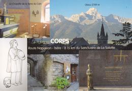38 CORPS   - NOTRE DAME DE LA SALETTE / ROUTE NAPOLEON / MULTIVUES - Corps
