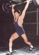 NICU VLAD / ROMANIA : HALTÉROPHILE - CHAMPION OLYMPIQUE En 1984 ( 90 Kg ) - WEIGHTLIFTING OLYMPIC CHAMPION - 1984 (ha01) - Weightlifting