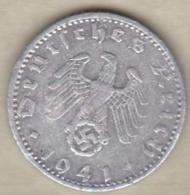 50 Reichspfennig 1941 J (HAMBOURG) Aluminium - [ 4] 1933-1945 : Third Reich