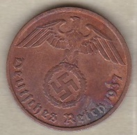 2 Reichspfennig 1937 A (BERLIN) . Bronze - 2 Reichspfennig