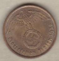 10 Reichspfennig 1938 A (BERLIN)  Bronze-aluminium - [ 4] 1933-1945 : Tercer Reich