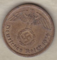 10 Reichspfennig 1939 A (BERLIN)  Bronze-aluminium - [ 4] 1933-1945: Derde Rijk