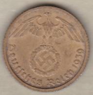 10 Reichspfennig 1939 B (HANNOVER)   Bronze-aluminium - [ 4] 1933-1945: Derde Rijk